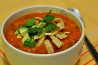Pumpkin-tortilla-soup