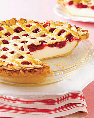 Cherry-cheesecake-pie